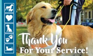 National Service Dog Month | Crossroads Animal Hospital